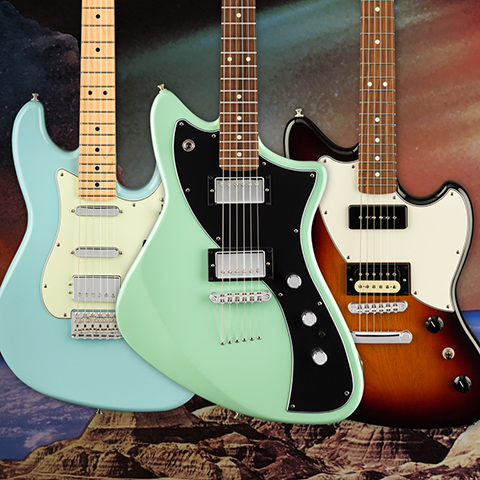 Shop Fender | Electric Guitars, Acoustics, Bass, Amps & More