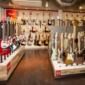 FENDER SHOP in MIKI GAKKI AMERICAMURA